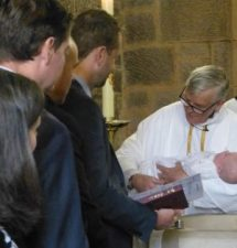 BAPTISM AT HOLY TRINITY