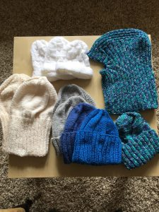 Knit and Natter group delivers - Holy Trinity Motherwell